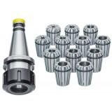 Цанговый патрон Vertex NT30 ISO30-ER32 с набором из 12 цанг