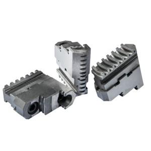 Комплект прямых каленых кулачков для токарного патрона 160 мм
