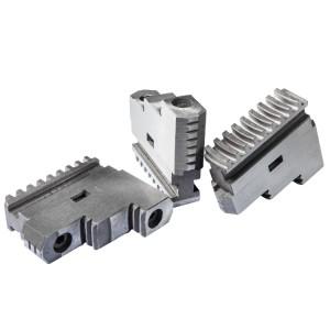 Комплект прямых каленых кулачков для токарного патрона 200 мм