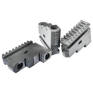 Комплект прямых каленых кулачков для токарного патрона 250 мм