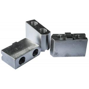 Комплект сырых накладных кулачков для токарного патрона 160 мм
