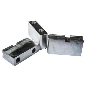 Комплект сырых накладных кулачков для токарного патрона 200 мм