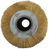 Брашировальный вал гофрированная латунированная сталь 0,2 мм для JET DDS-225 и Powermatic DDS-225