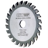 Подрезной пильный диск с коническим зубом CMT 120x20 мм 24 зуба (3.1-4.0)