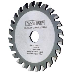 Подрезной пильный диск с коническим зубом CMT 120x20 мм 24 зуба (3.4-4.2)