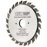 Регулируемый подрезной пильный диск CMT 120x20 мм 12+12 зубов