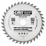Универсальный пильный диск CMT 160x20 мм 24 зуба