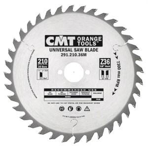 Универсальный пильный диск CMT 160x16 мм 24 зуба