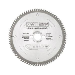 Пильный диск CMT по ДСП и фанере 250 мм 80 зубьев
