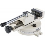 Поворотные тиски 55x75 мм для фрезерного станка