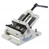 Угловые поворотные тиски 100 мм для фрезерного станка
