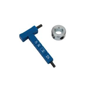 Шестигранный ключ Kreg с разметкой и стопорное кольцо