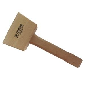 Трапецевидная деревянная киянка Narex 440 гр.