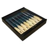 Юбилейный набор из 8 стамесок Narex в деревянном кейсе
