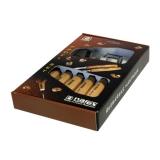 Набор из 6 резцов Narex Standart в картонной коробке