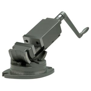 Высокоточные двух осевые фрезерные тиски Groz AMV/SP-125