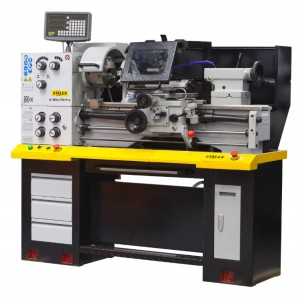 Токарно-винторезный станок по металлу с УЦИ Stalex C0636N/750